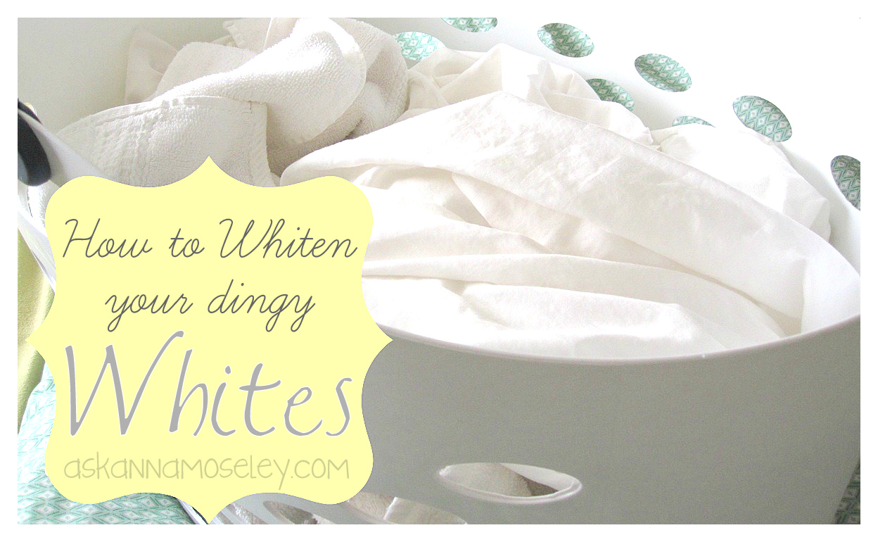 Whitening Whites: Laundry Tips