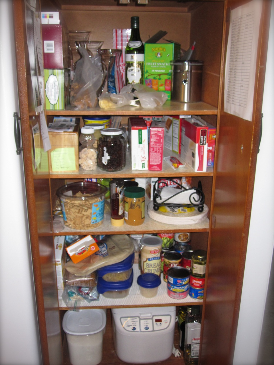 My Pantry: Before.