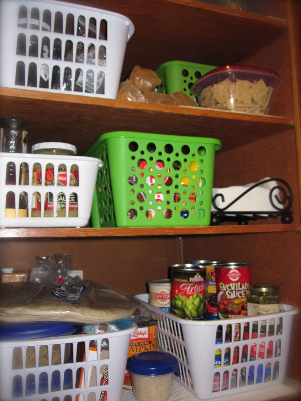 U201cMy Pantry And My Hall Closet (linens, Medications/heating Pad/etc Stuff)  Are Both The Same, Weird, Hard To Use Shape! They Are Floor To Ceiling, ...