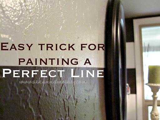 How to Paint a Straight Line (A Perfect Line)