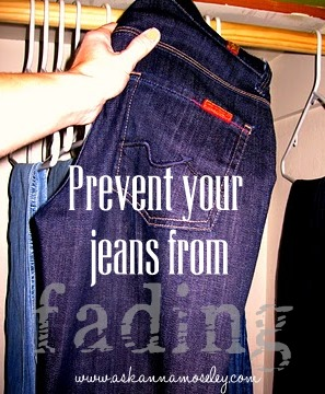 How to Prevent Jeans from Fading