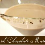 Dark chocolate martini - Ask Anna