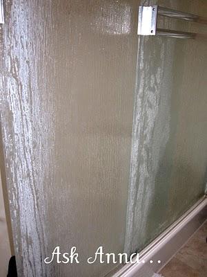 How To Clean Shower Door Soap Scum Please Help Me Ask