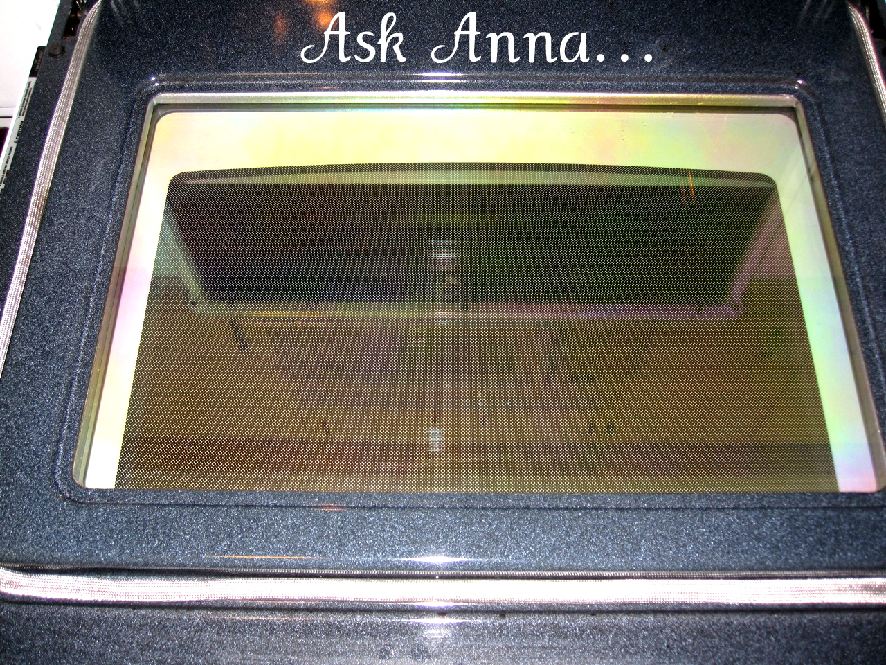 To clean oven glass ask anna how to clean oven glass ask anna planetlyrics Gallery
