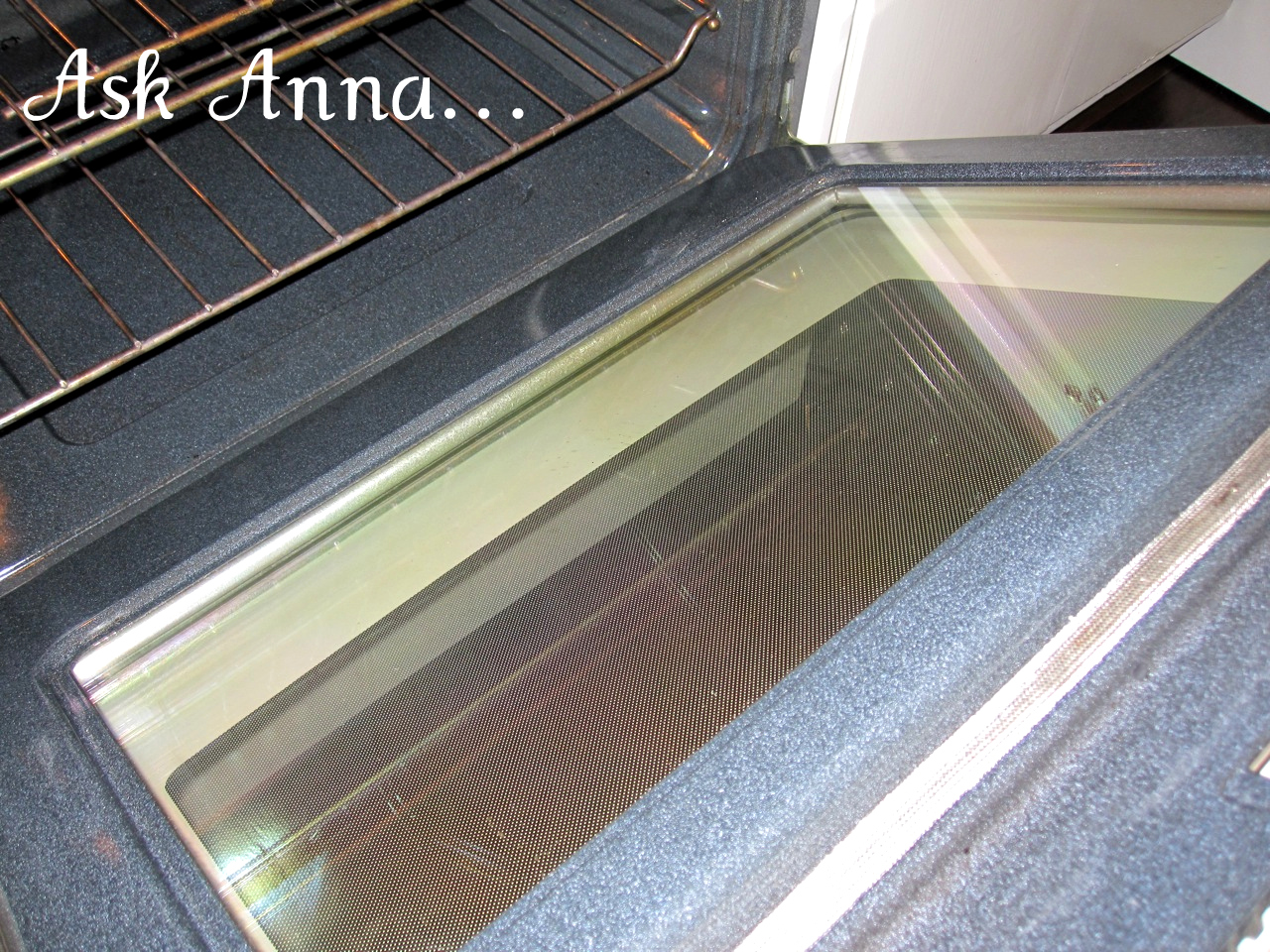 How to clean oven glass - Ask Anna