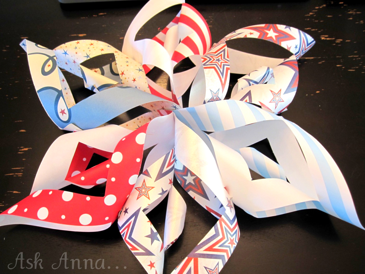 How to Make a Paper Pinwheel Star