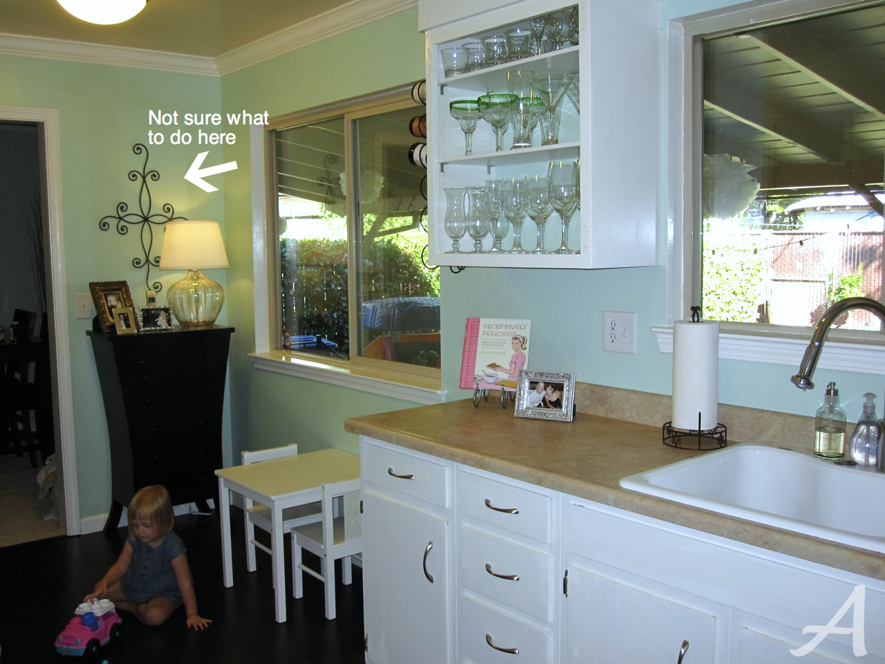 Makeover Updates {Kitchen and Bathroom} - Ask Anna