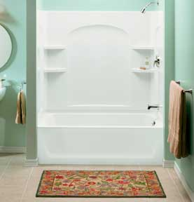 Bon How To Clean A Fiberglass Shower Stall