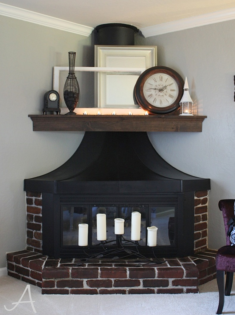 how to update a brick fireplace ask anna