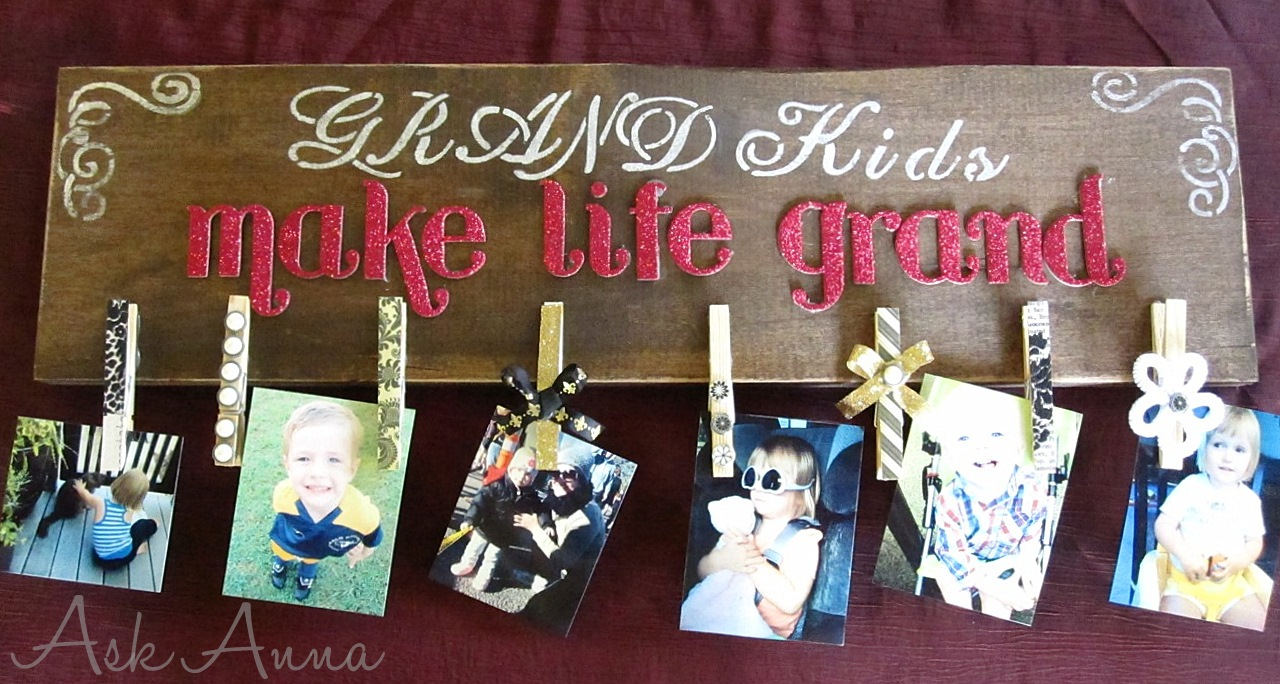 DIY Photo Clipboard {Gift idea}