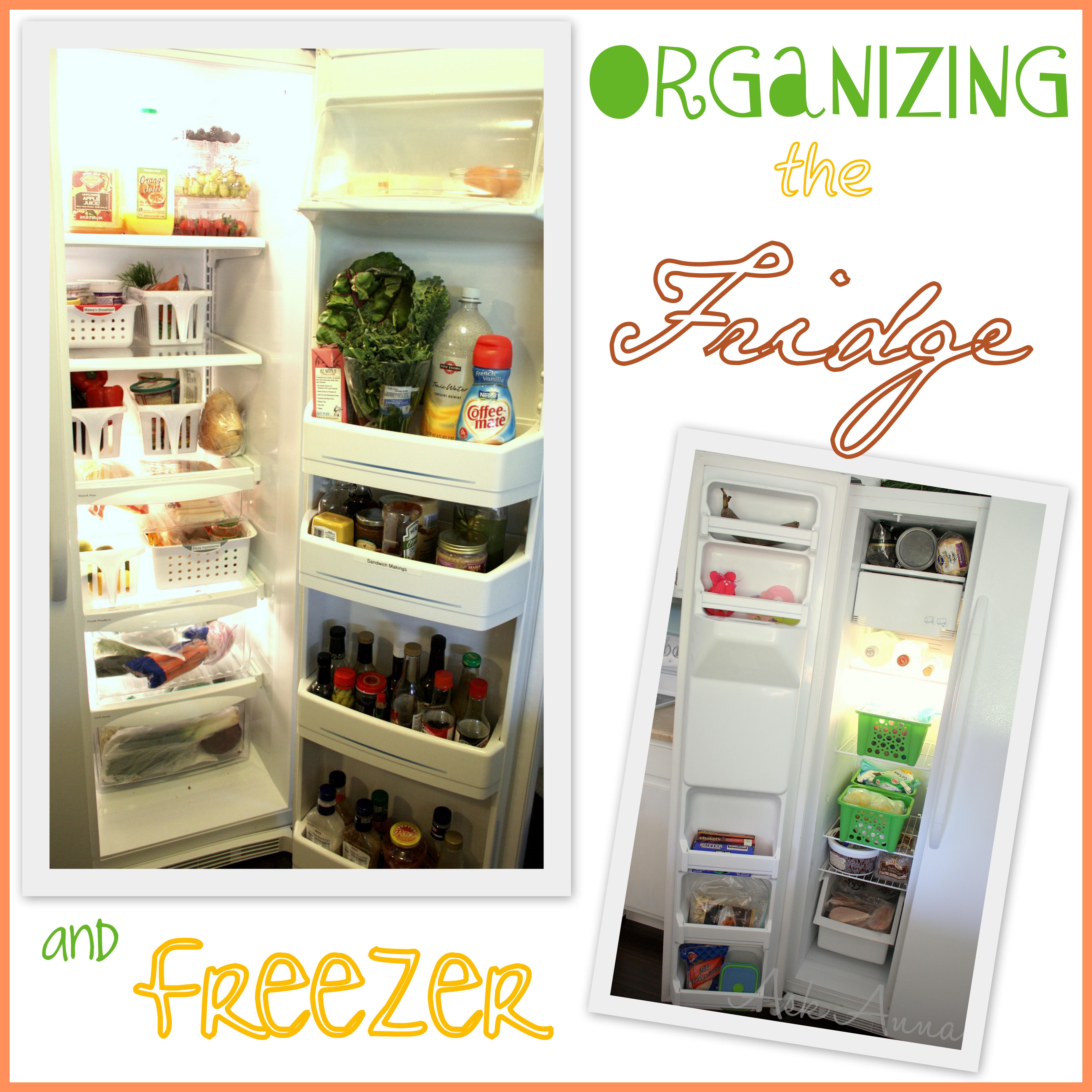 Day #3: Refrigerator Organization & Freezer Help