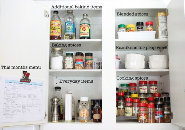 1 To Organize Your E Cupboard Start By Taking Everything Out