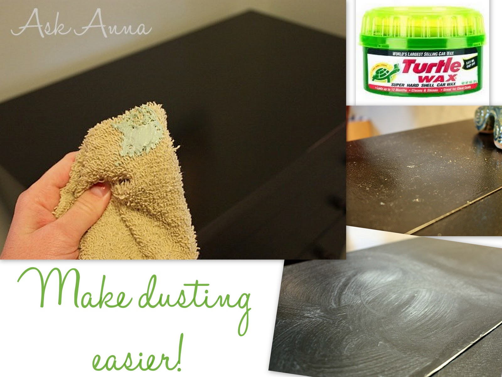 Day #2: Getting Rid of Dust