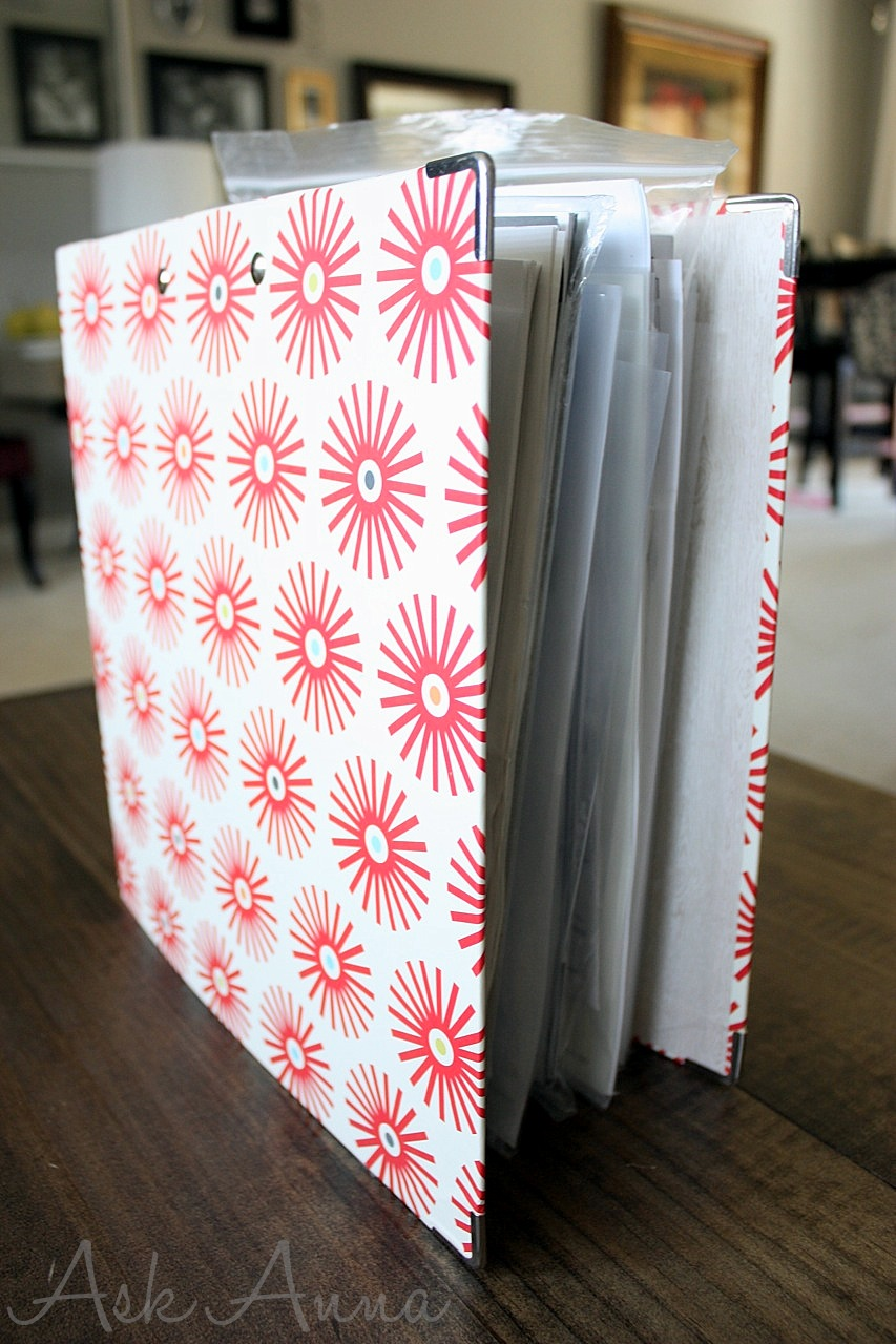 Day #12: Organizing with Binders – Manuals & Warranties