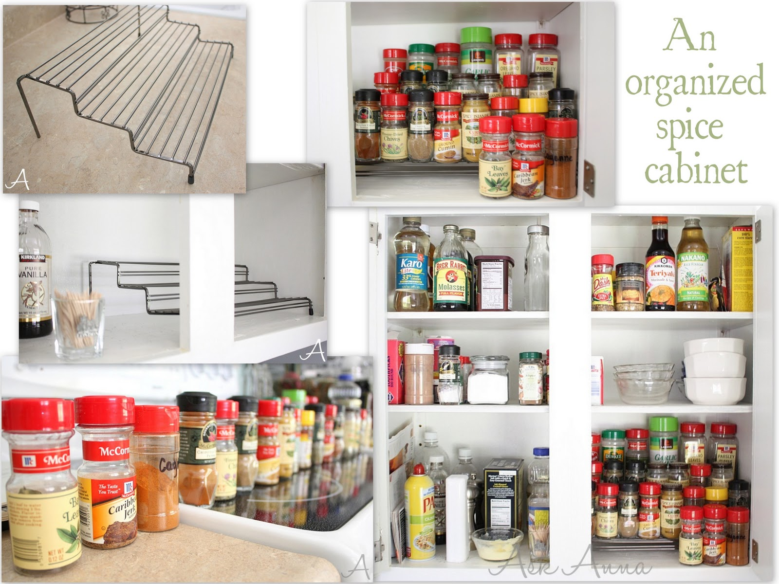 Organizing Kitchen Cabinets Ask Anna - Best way to organize kitchen cabinets