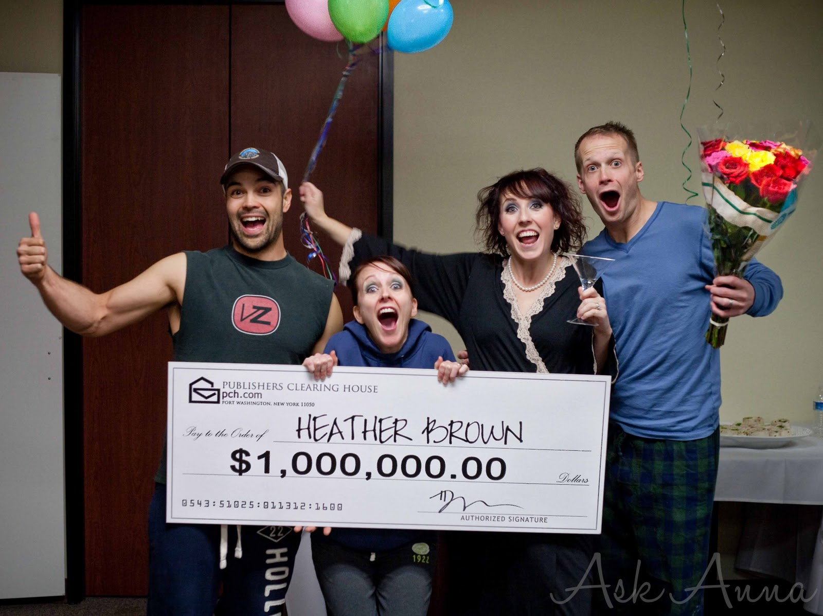 Publishers Clearing House Party