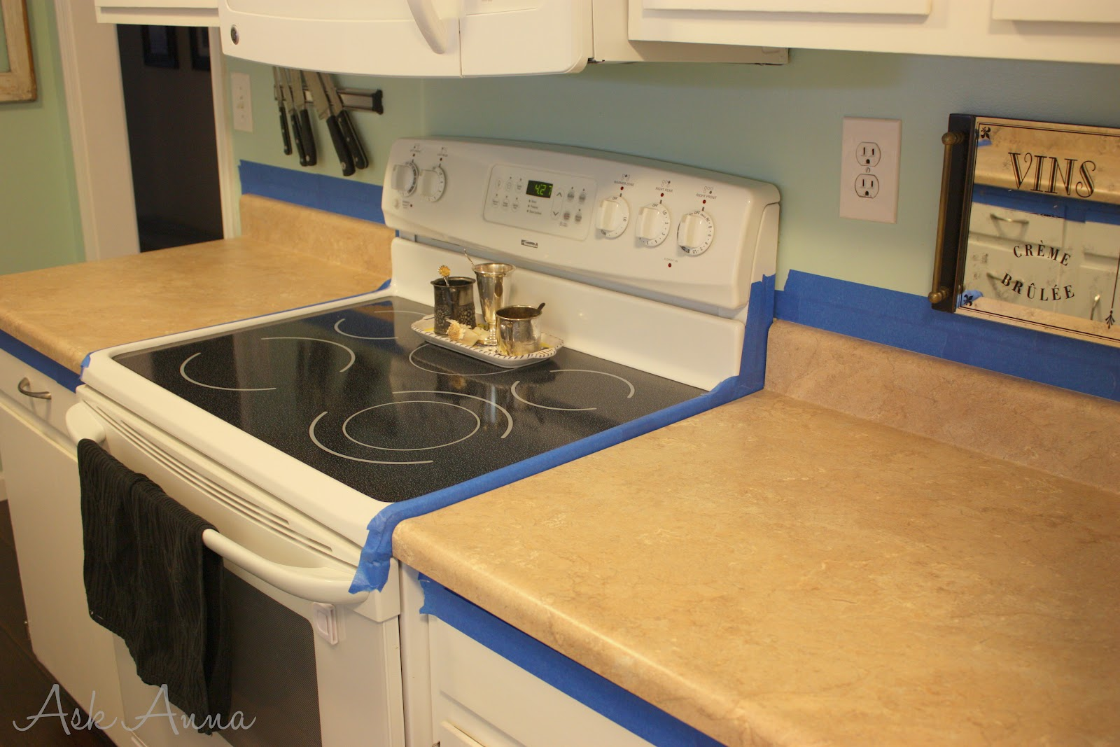 Giani Granite Countertop Paint Review Ask Anna - How to redo kitchen countertops