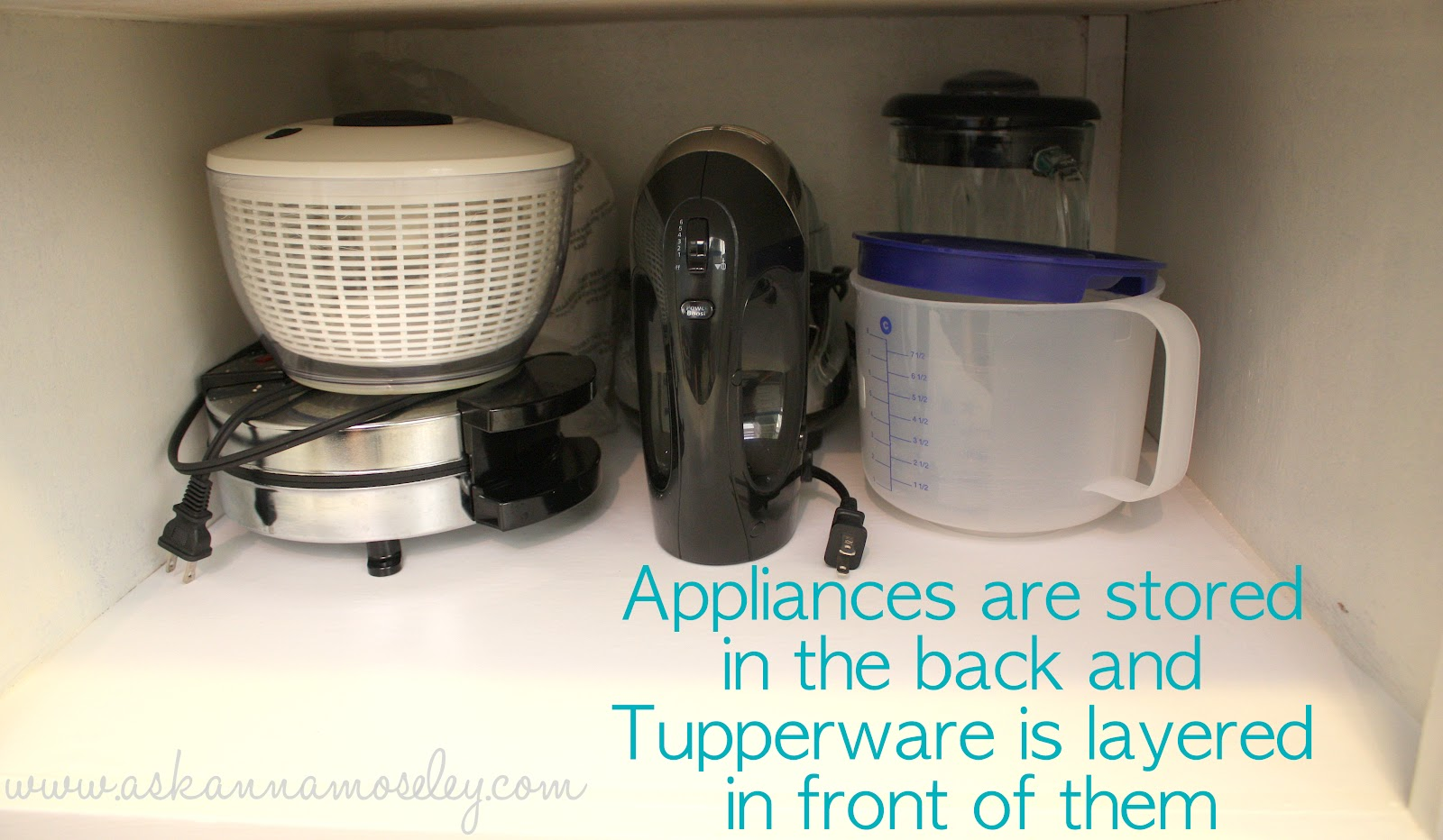 Kitchen organization tips - Ask Anna