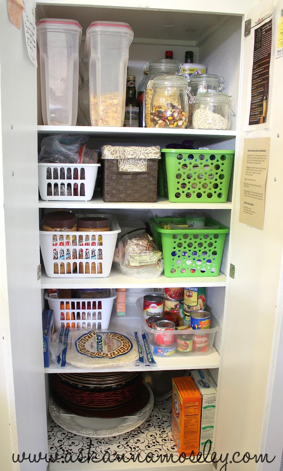 spring into organization ~ kitchen organization tips - ask anna
