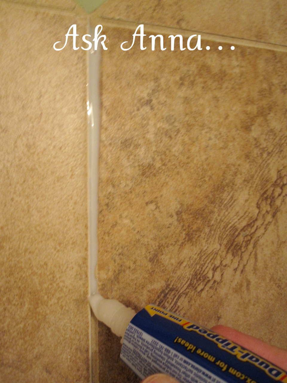 This is the best tip and the easiest way to clean even the dirtiest grout lines in just minutes | Ask Anna