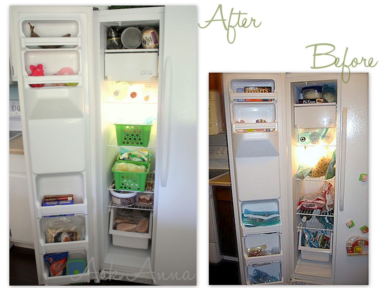 Fridge & Freezer Organization - Ask Anna