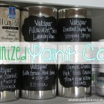 How to organize paint cans - Ask Anna