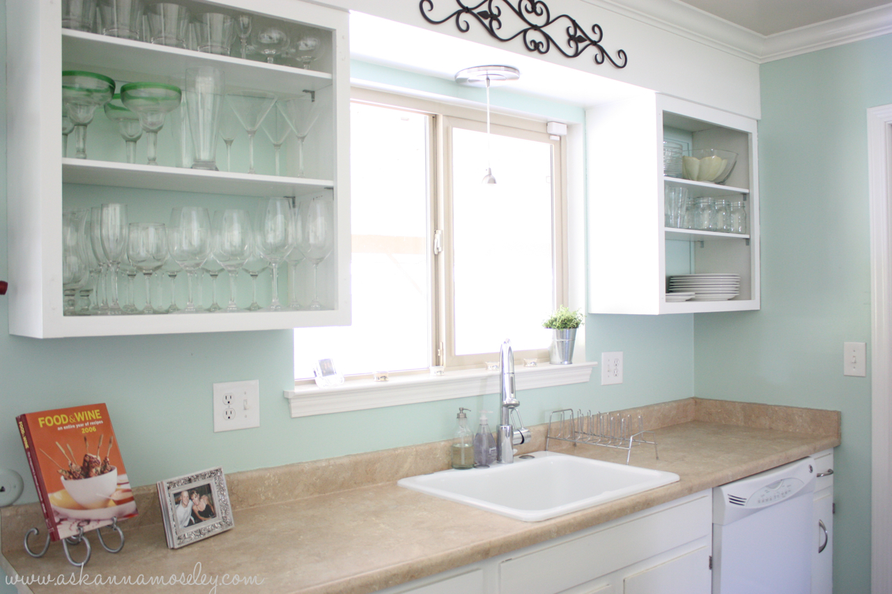 Kitchen makeover ideas and transformations 2 years in the for Valspar kitchen and bath paint