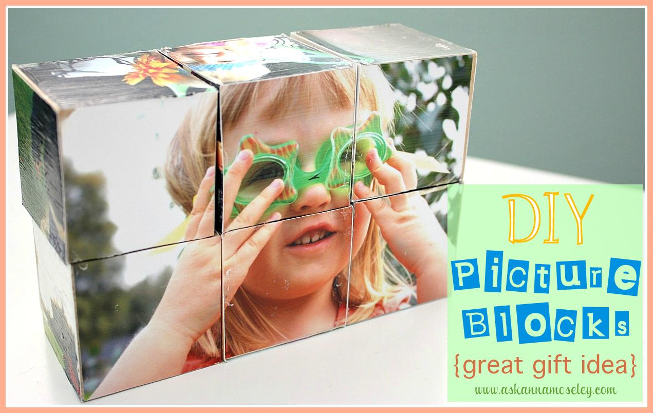 DIY Picture Blocks {Gift idea}