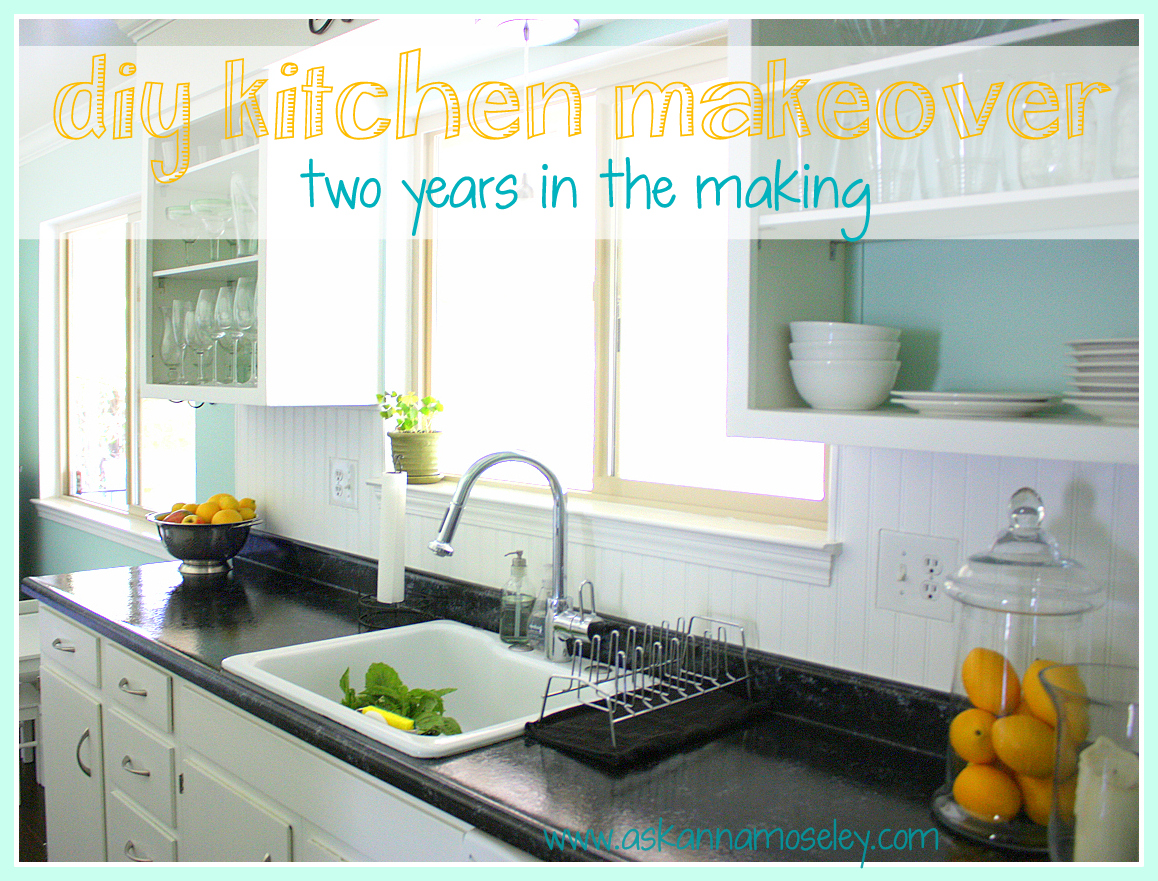 Kitchen Makeover Ideas and Transformations {2 Years in the Making}