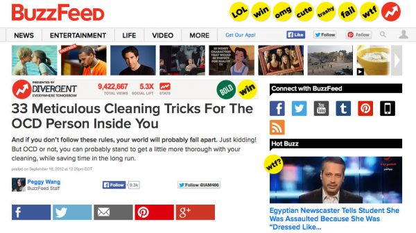 Buzz feed round up, Sep 2012