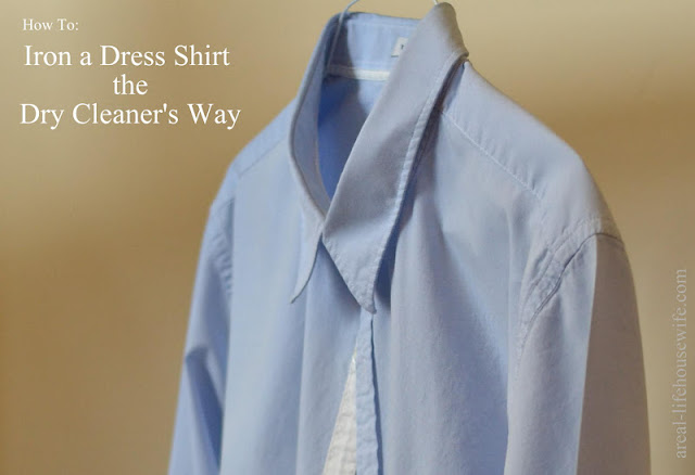 how to iron a dress shirt the dry cleaner u0026 39 s way