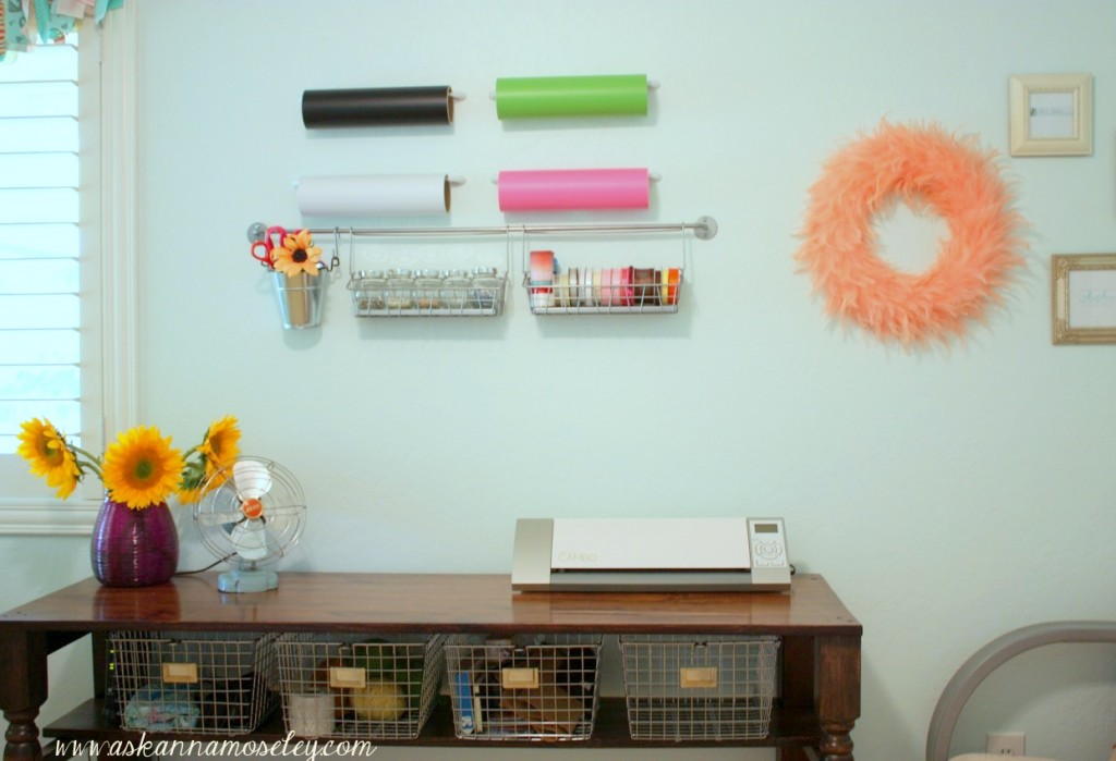 Craft Room Organisation: Office & Craft Room Reveal With Lots Of Craft Room