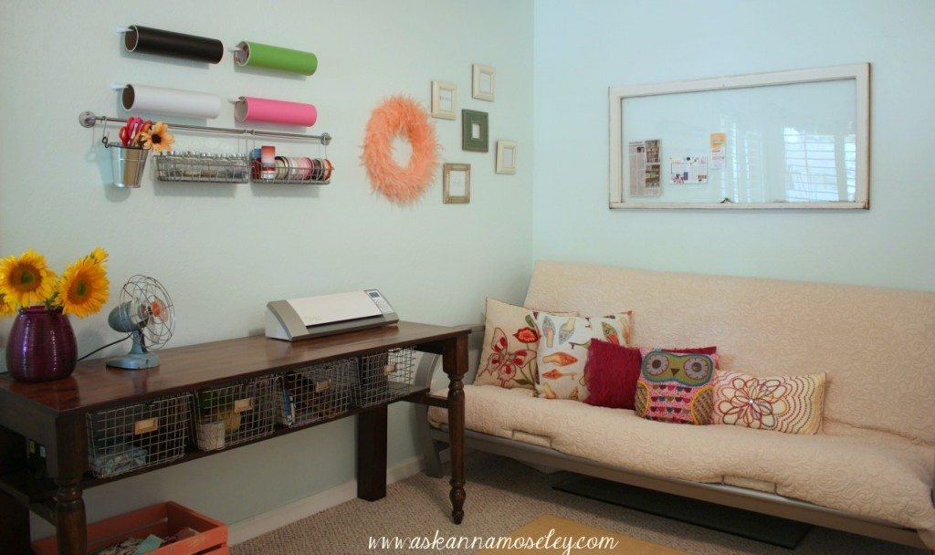 Office & Craft Room Reveal with lots of Craft Room Organization ...