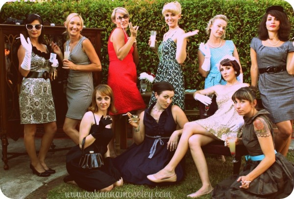 Mad Men Birthday Party