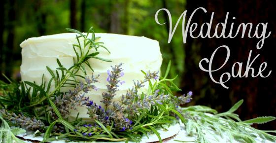 Wedding Cake for my Mom (Nature Wedding Cake)