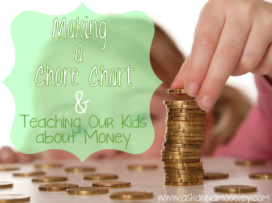 """Creating a """"Chore"""" List for Malea (Teaching Kids about Money)"""