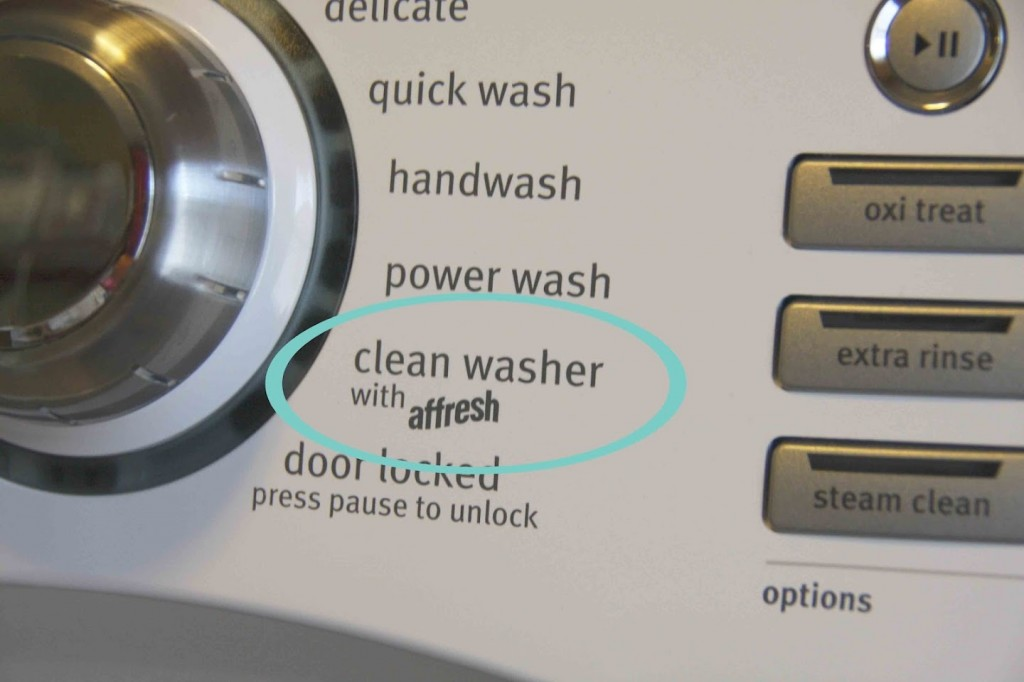 Remove High Efficiency Washing Machine Odor