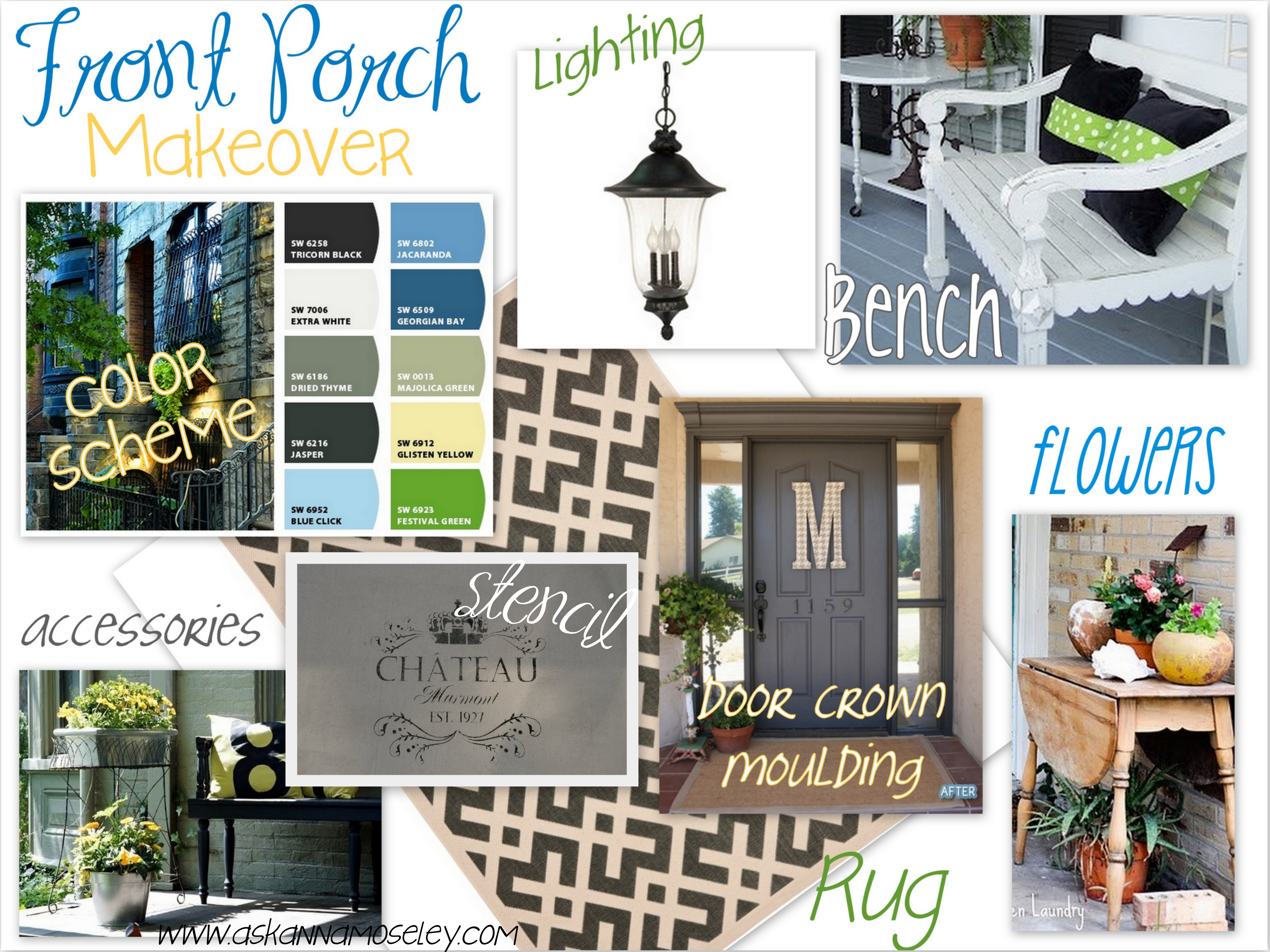 Front Porch Makeover Ideas & Inspiration