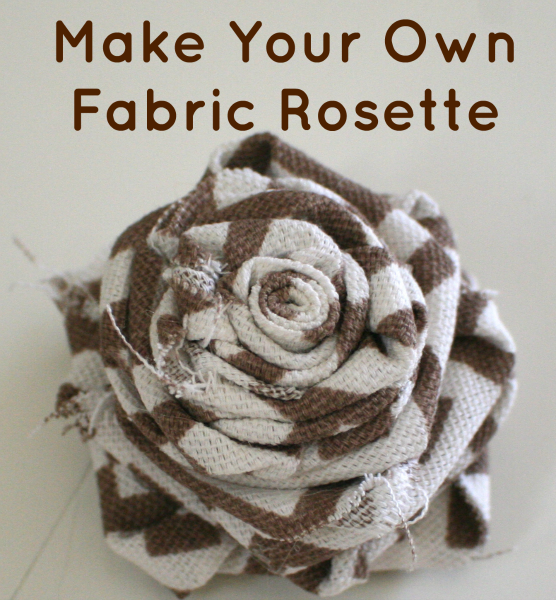 How to Make Fabric Rosettes {Guest Post}