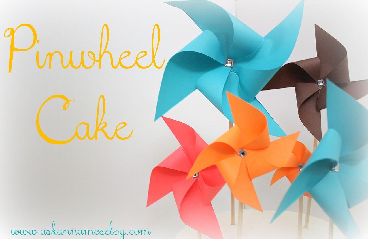 Pinwheel Cake {Celebrating a new School Year}