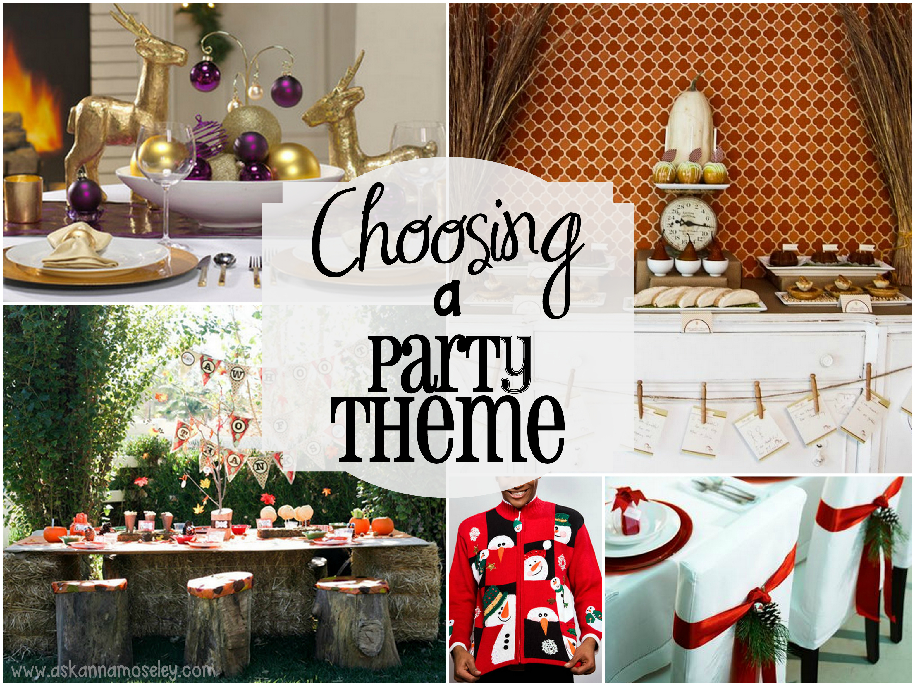 31 ways to plan a fabulous party choosing a theme ask anna