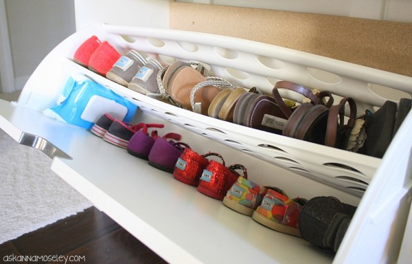 how to organize shoes ask anna. Black Bedroom Furniture Sets. Home Design Ideas