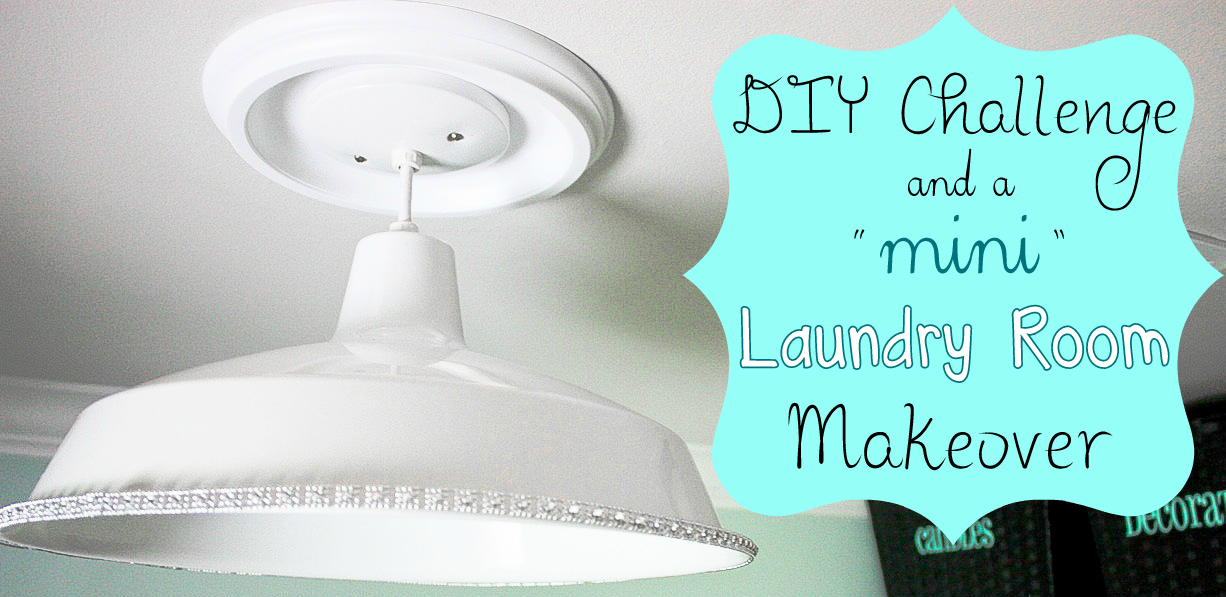 Mini Laundry Room Makeover {DIY Wayfair Challenge}