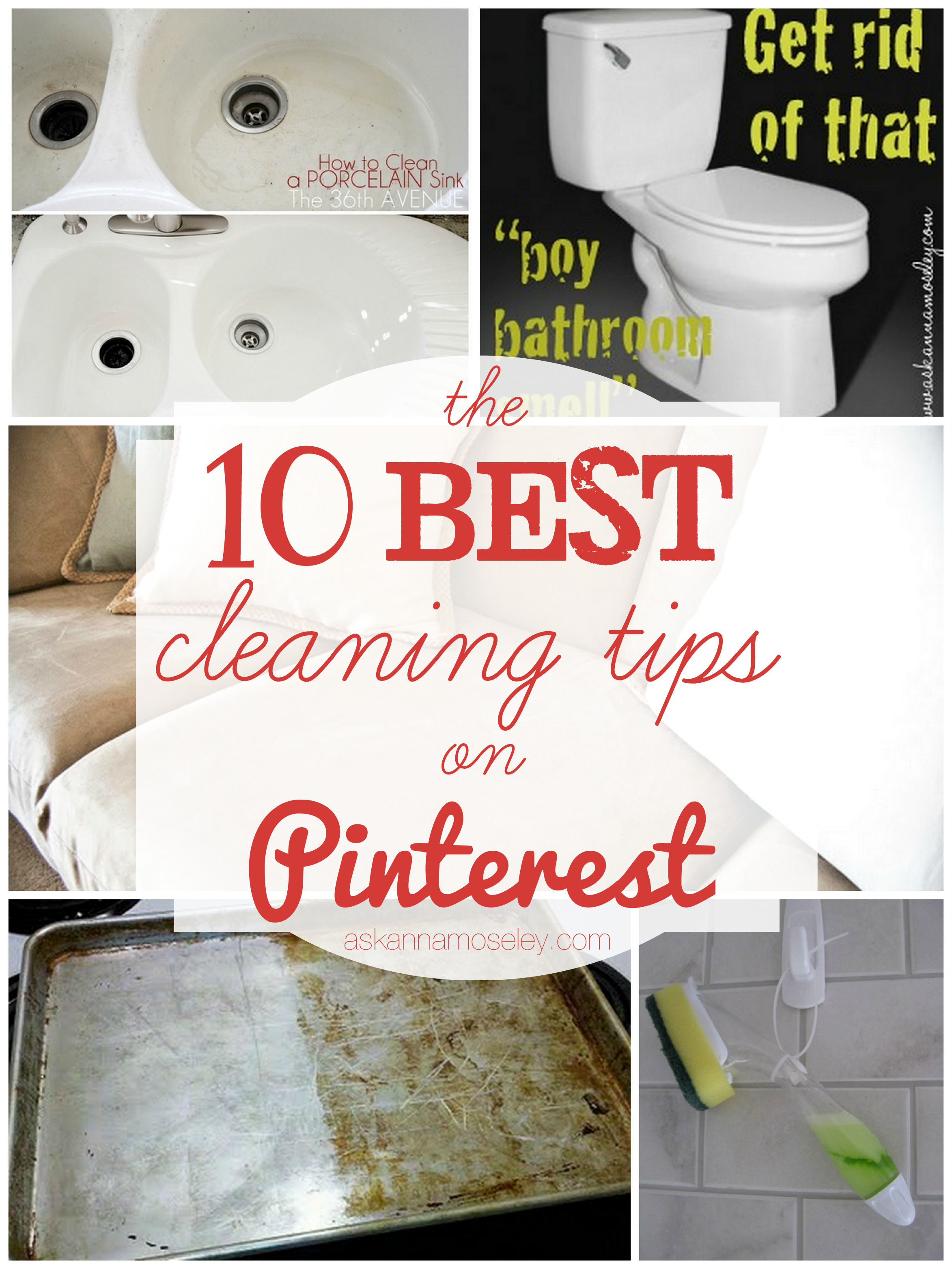 The Best Cleaning Tips on Pinterest