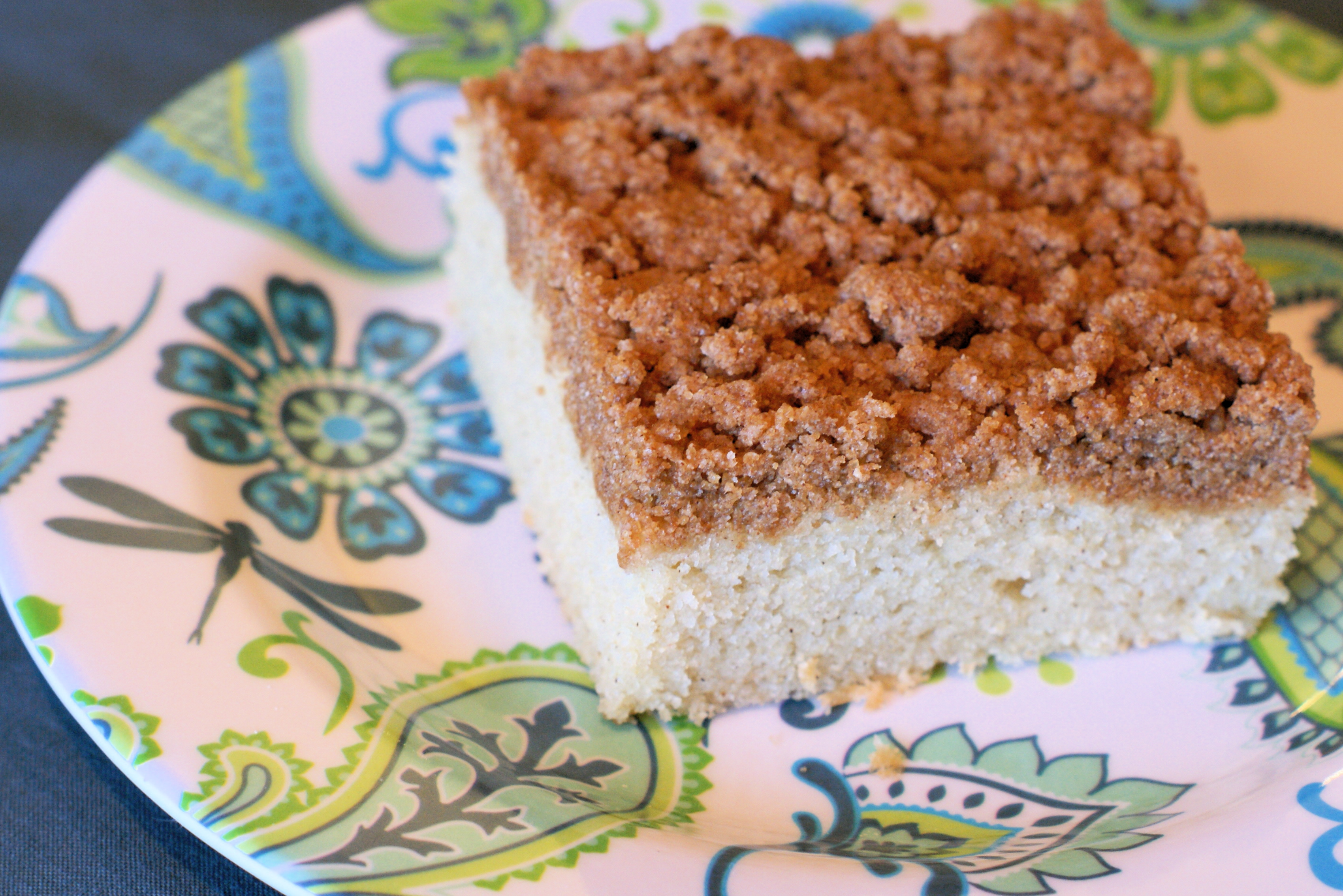 Gluten Free Vegan Coffee Cake