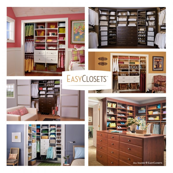 Organized closets with EasyClosets - Ask Anna