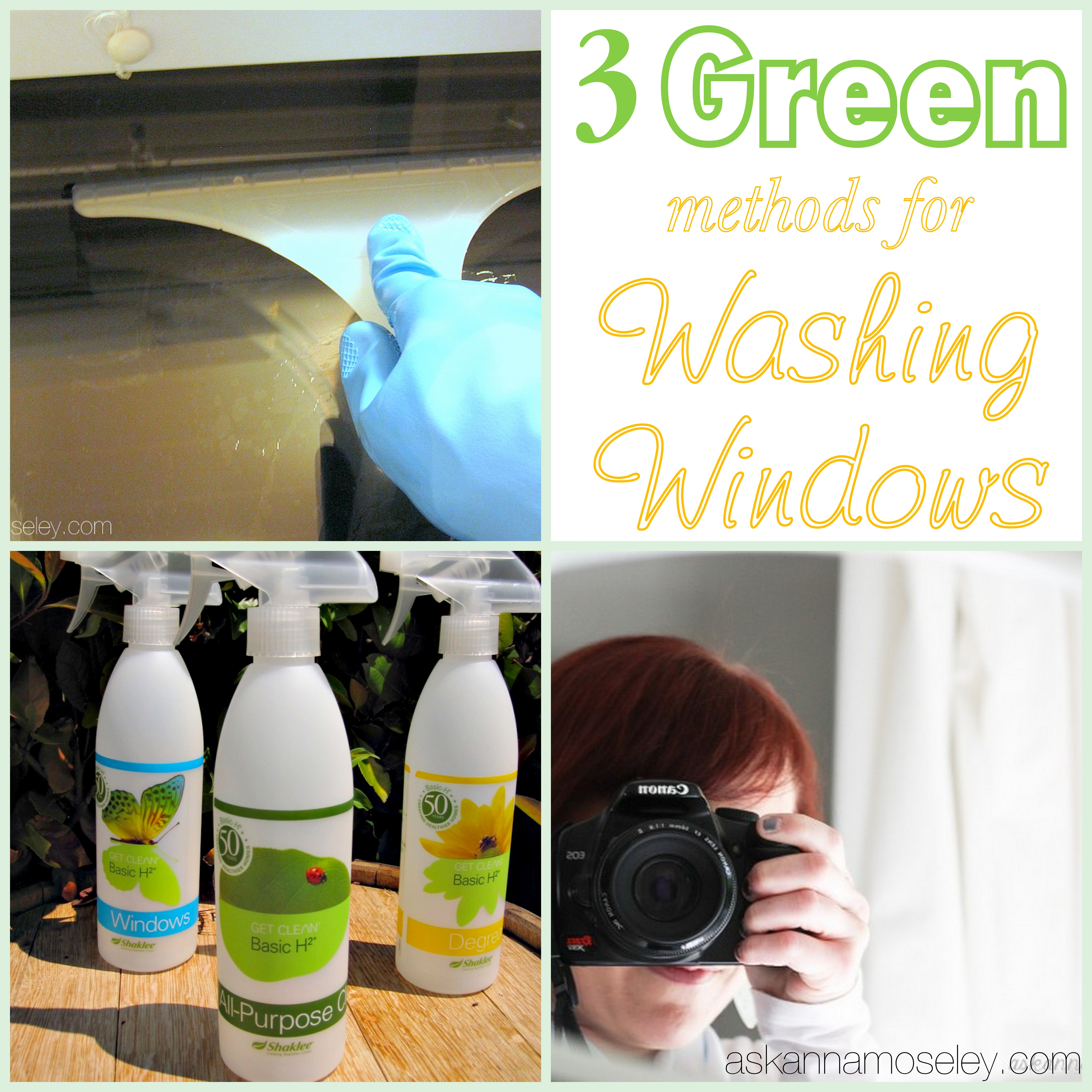 Love to Clean ~ Washing Windows & Mirrors