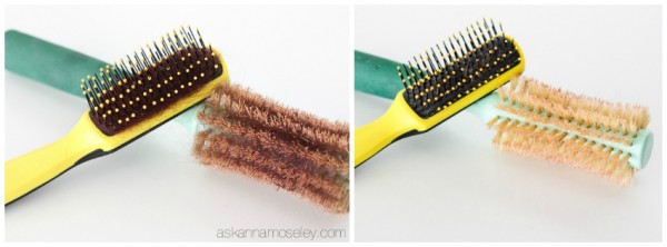 How to clean a hair brush -- Ask Anna
