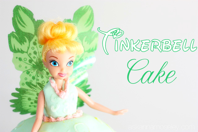 Disneyland Pictures and Malea's Tinkerbell Cake
