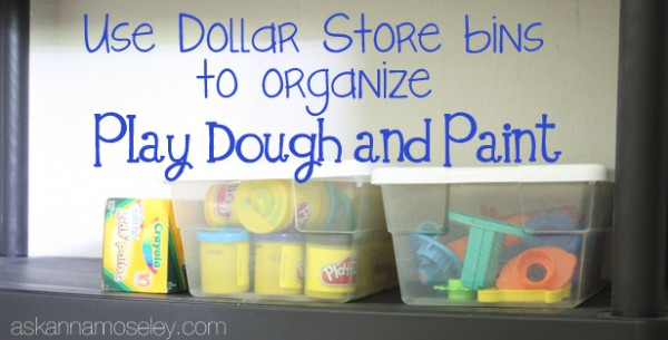 I also wanted to share a few other great ideas I found online for how to organize kidsu0027 crafts. This mom used on old TV stand to organize them in her home ... & Kidsu0027 Craft Organization - Ask Anna
